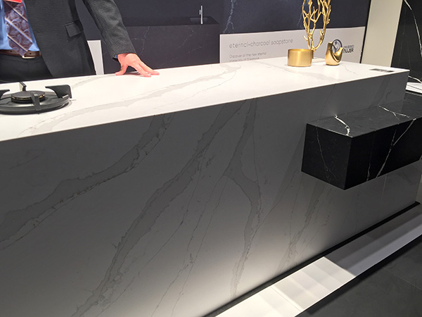Calacatta Gold - Silestone Eternal Series via Cozy Stylish Chic