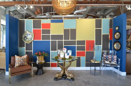 Benjamin Moore Century vignette at Cozy Stylish Chic, Pasadena furniture store | Design: Jeanne K Chujng