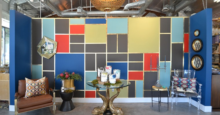 Creating An Art Wall Using CENTURY by Benjamin Moore