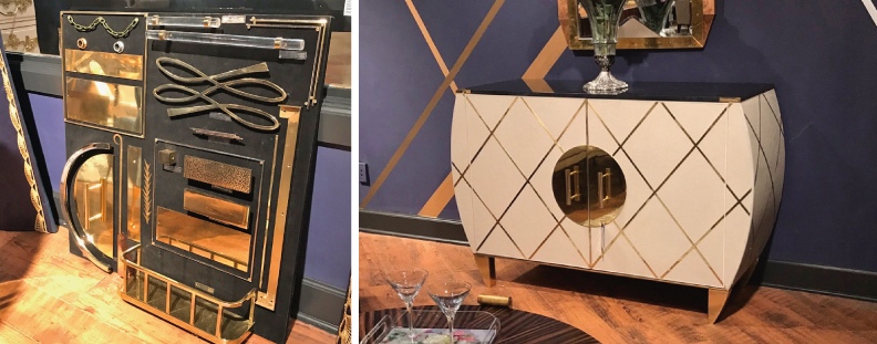 High Point Market Fall 2017 trends - Michelle Workman for French Heritage via Cozy Stylish Chic
