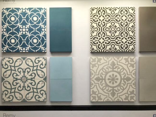 2018 tile trends - cement tile