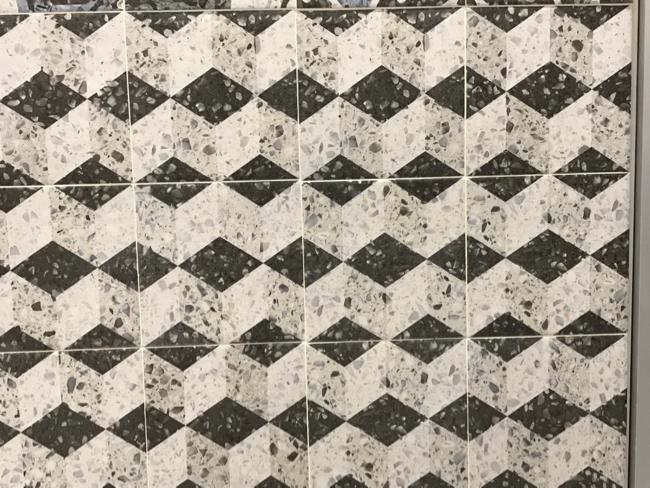 2018 tile trends - terrazzo