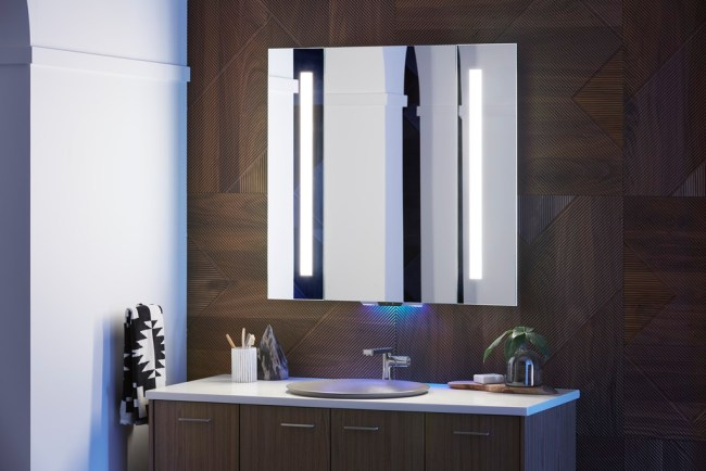 Verdera Voice Lighted Mirror by Kohler using Kohler Konnect technology