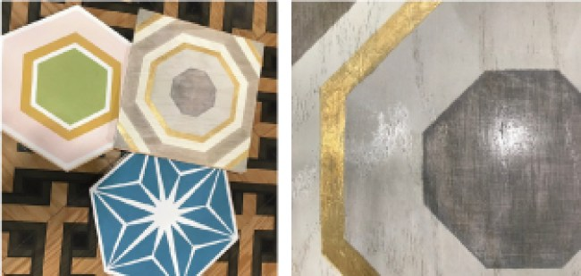 2018 tile trends -Digitally printed engineered wood floor - TISE 2018