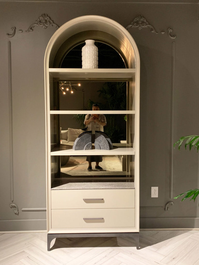 Cream Etagere at Highpoint Market