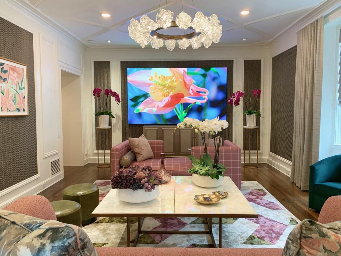 2019 Pasadena Showcase House - Entertainment Lounge