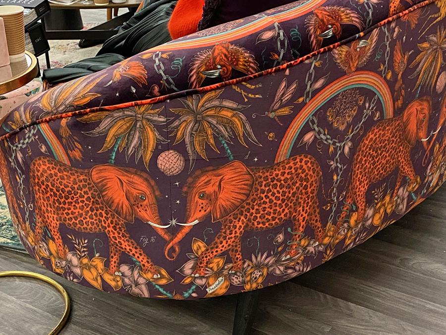 Animal textile trend