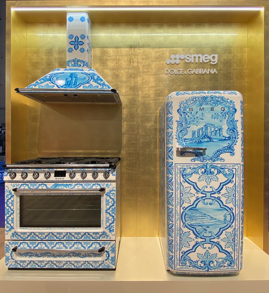 Dolce Gabbana for Smeg - KBIS 2020