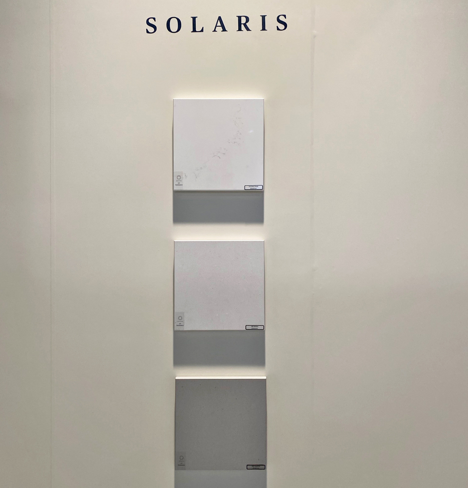 SOLARIS BY CAESARSTONE - KBIS 2020