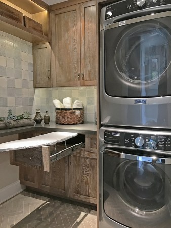 Aging in Place Small Space Laundry Room - Sierra Madre Designer: Jeanne K Chung, Cozy Stylish Chic