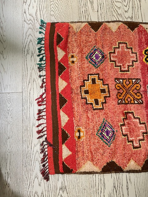 Mehraban rug - Pasadena Showcase House Cozy Stylish Chic