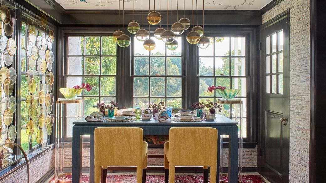 Breakfast Room Ideas from The 2020 Pasadena Showcase House