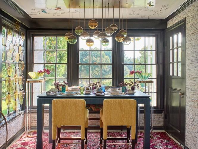 2020 Pasadena Showcase House Breakfast Room - Pasadena interior designer Jeanne K Chung | Cozy Stylish Chic