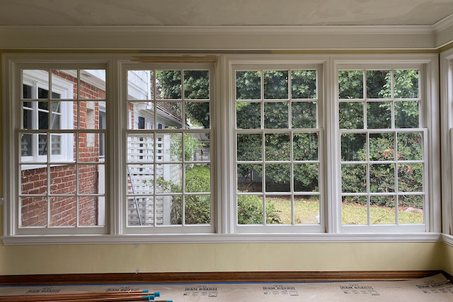Pasadena Showcase House breakfast room window