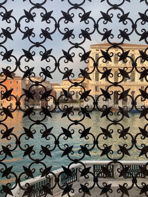 The Peggy Guggenheim Museum overlooking the Grand Canal in Venice