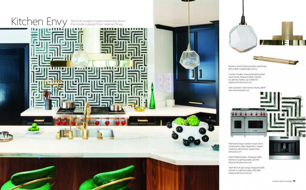Pasadena Showcase House kitchen designer Jeanne Chung