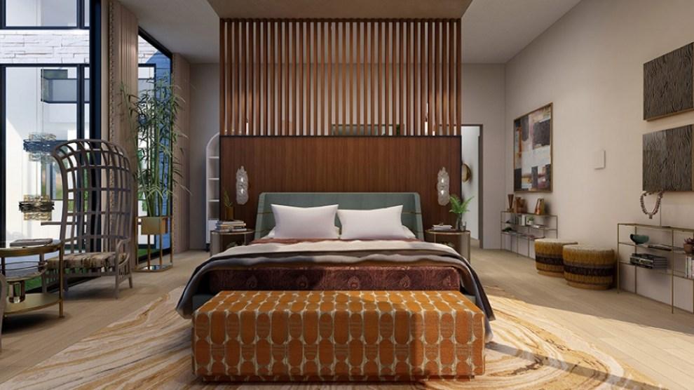 Modern but cozy Malibu bedroom 5