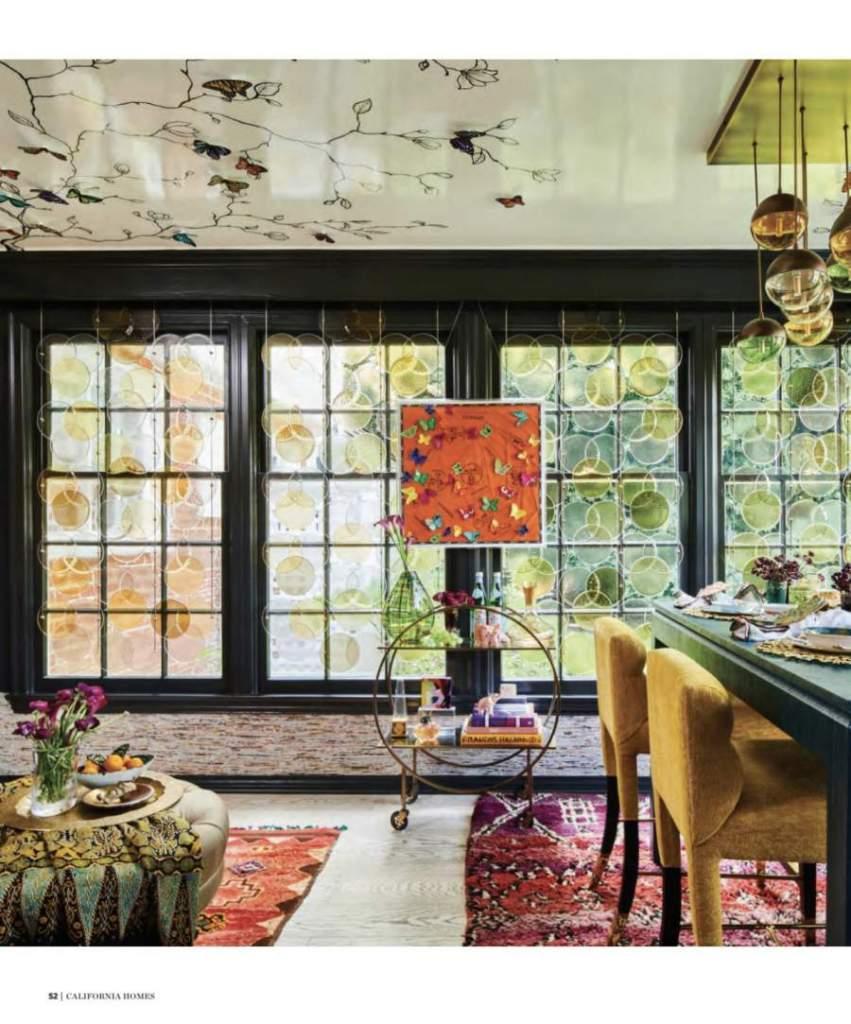 2020 Pasadena Showcase House Breakfast Room - Jeanne K Chung