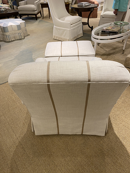 Grosgrain chair Hickory Chair - High Point Market furniture trends 2021