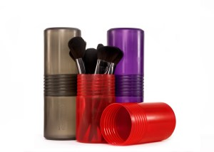 Makeup Brush Canisters