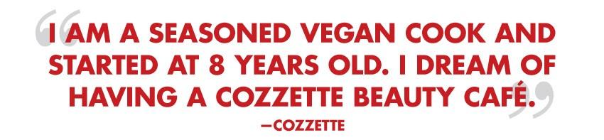 Cozzette Beauty Quote