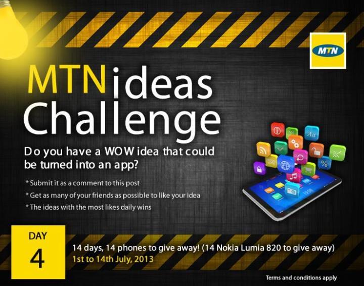 mtn ideas challenge