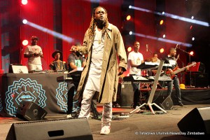 Zimbabwean-born and South Africa-based multi-award winning dancehall artist BUFFALO SOULJAH | Image Source: newsday.co.zw