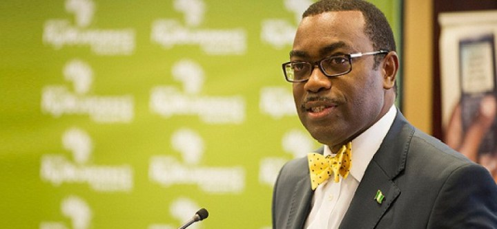 Mr Akinwunmi Adesina, the President of the AfDB which published the Visa Openness Index