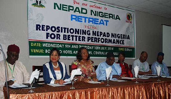 From left: Chief Dr. Mrs Nike Akande OON, former Minister of Industry and 1st Vice Chairman of NEPAD Business Group;; ; Her Excellency, Amb. Fidelia Njeze  Special Adviser to the President on NEPAD;  Alhaji Bamanga Tukur, Chairman of the NEPAD Business Group Nigeria Image Credit: NEPAD