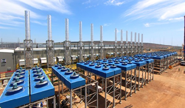 A section of the plant at Ressano Garcia. (Photo/Gigawatt Mozambique)