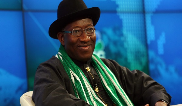 Goodluck Jonathan Photographer: Chris Ratcliffe/Bloomberg via Getty Images