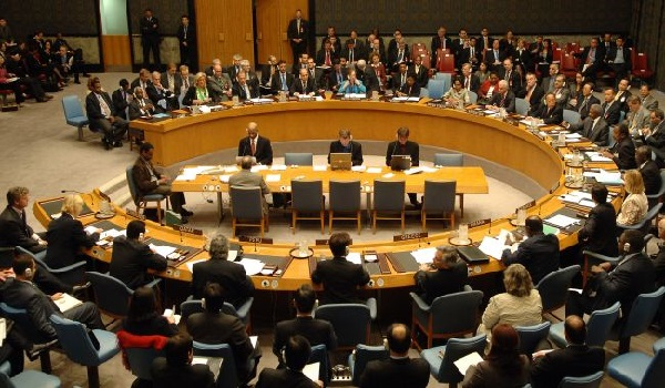 The United Nations Security Council meeting Image Credit: Samaa.tv