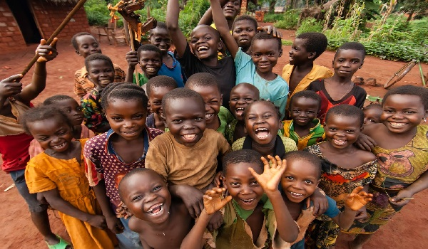 African Kids celebrating Image Credit: Africa Facts