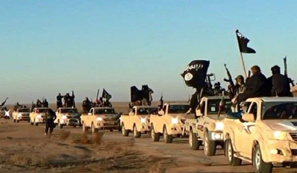 ISIS Patrol Image Credit: Morocco World News