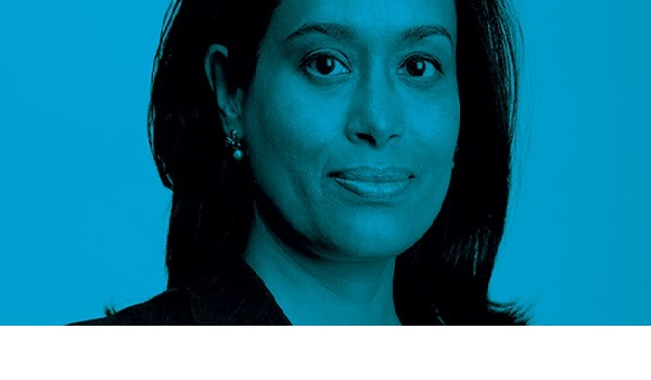 Mrs Alam, the CEO of Development Partners International