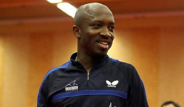 Mr Segun Toriola, Nigeria's foremost Table Tennis player