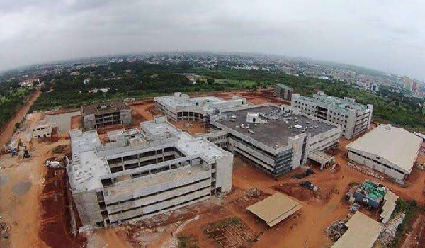 University of Ghana Teaching Hospital aerial view Image Credit: UGFile