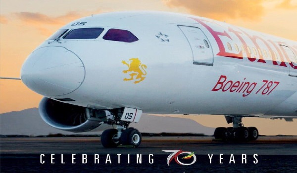 Ethiopian Airlines celebrates 70th anniversary.