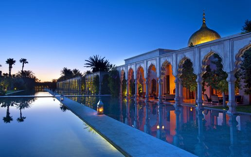 romantic places in Africa - Palais Namaskar, Morocco
