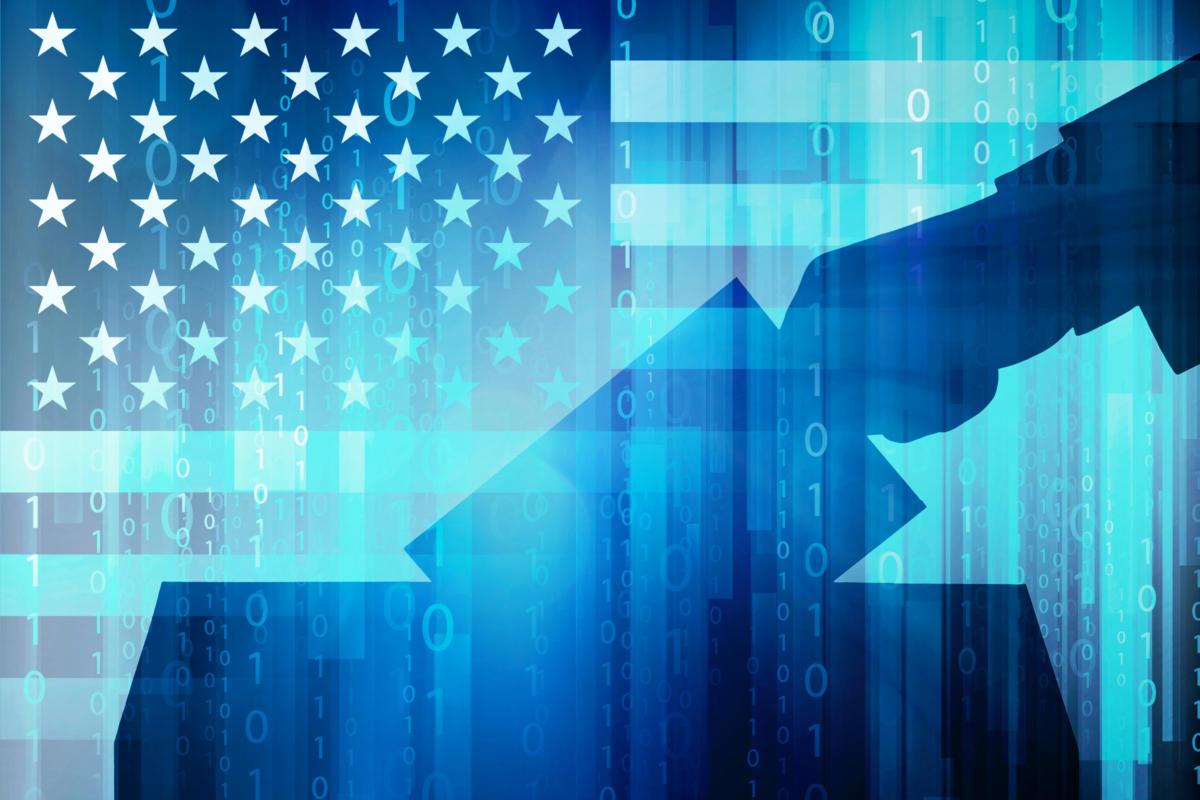 """的威胁""""物联网""""云下的美国大选"""