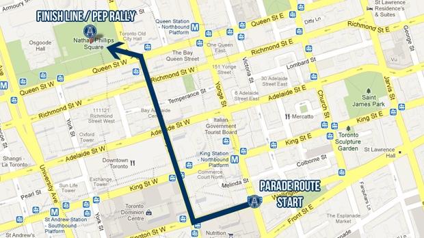 Argos To Celebrate Grey Cup With Parade Tuesday Cp24 Com