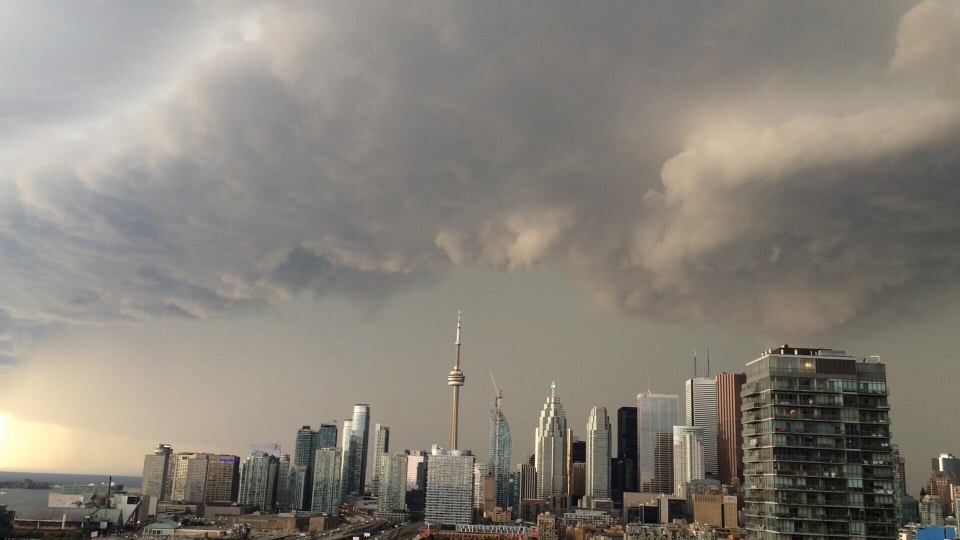 Toronto Parts Of Ontario Could See Funnel Clouds Today