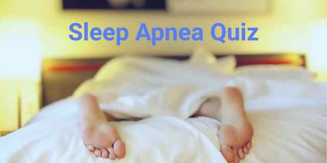 An online quiz for diagnosing sleep apnea