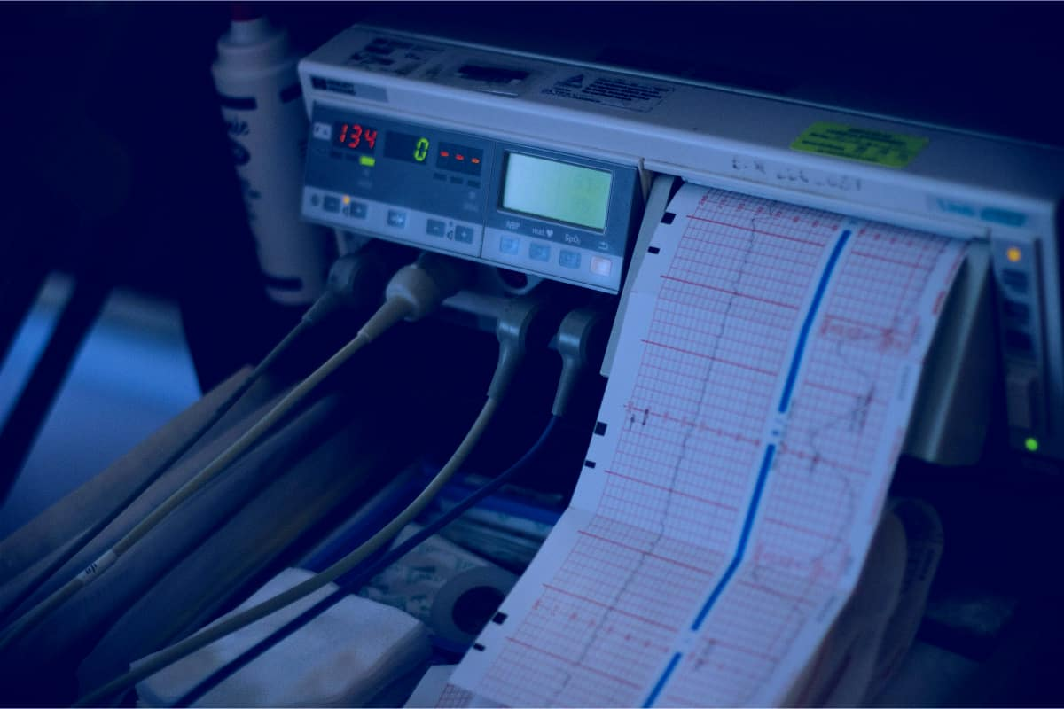 Medical Life Support Machine Readings