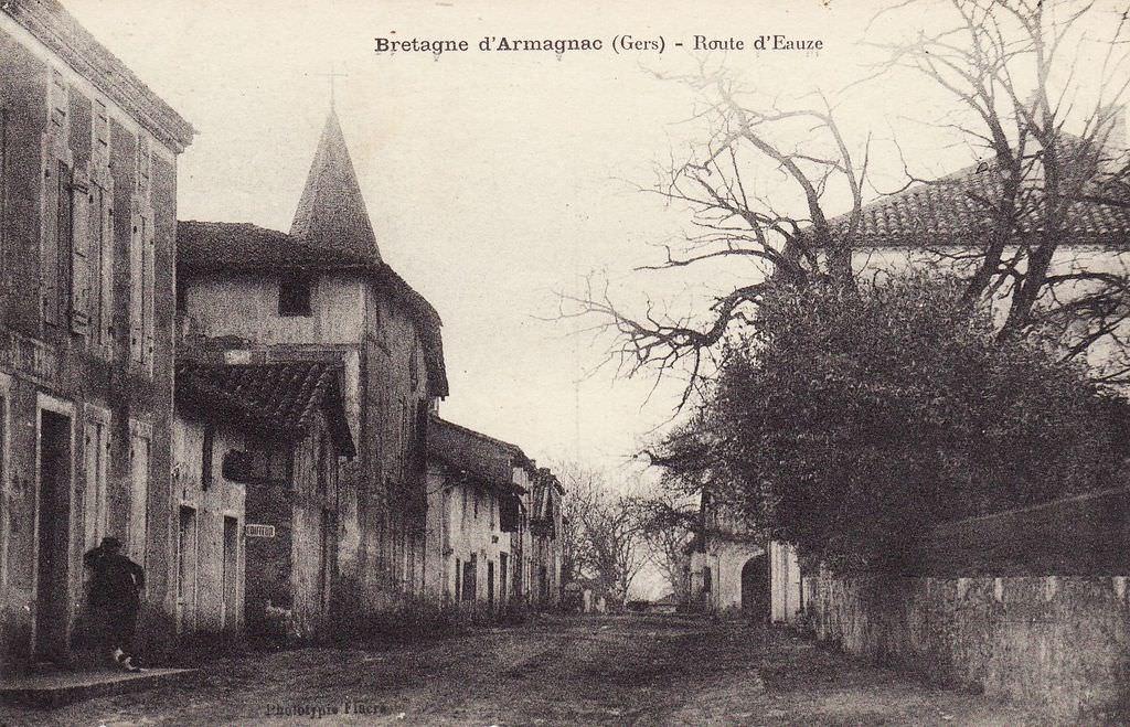 Bretagne d'Armagnac- Carte postale ancienne