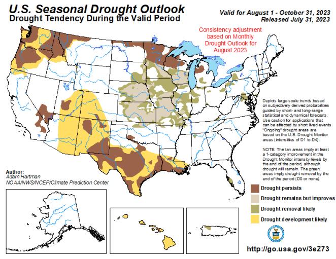 U.S. Seasonal Drought Outlook