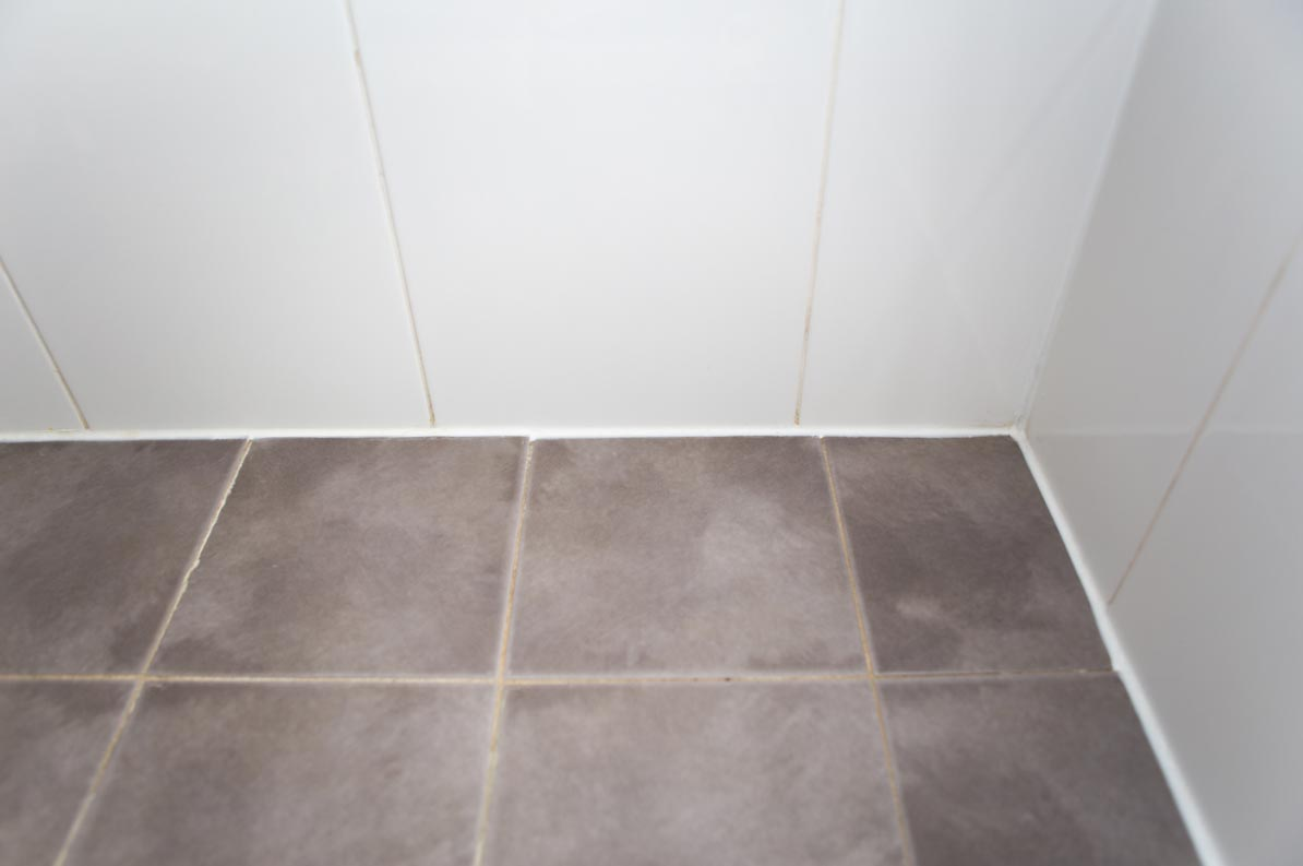 how to seal a leaking shower floor