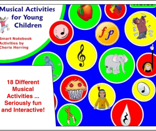 SMARTBoard Music Lesson: 18 Activities for Young Children