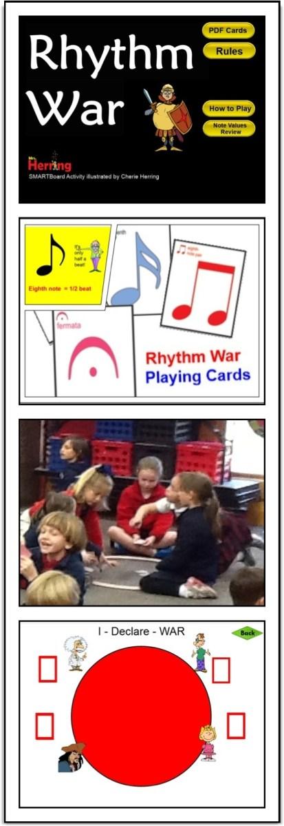Rhythm WAR in the Music Room