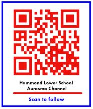 Hammond LS Aurasma Channel QR code